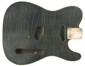 TELE BODY BOUND FLAME TRANSLUCENT BLACK
